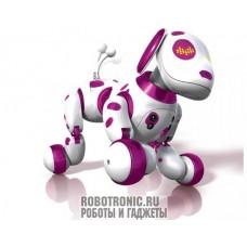 Робот щенок (розовый далматинец)