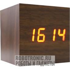 LED-часы из дерева