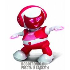 Танцующий робот (синий/розовый)