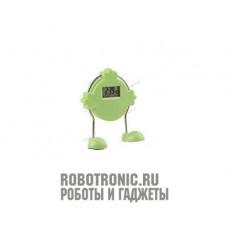 Робот - будильник (зелёный)